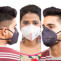 Best mask produced for a common Man | Washable | Reusable with superior protection & comfort |Pack Of 3 - Armour - 2 Black & 1 White