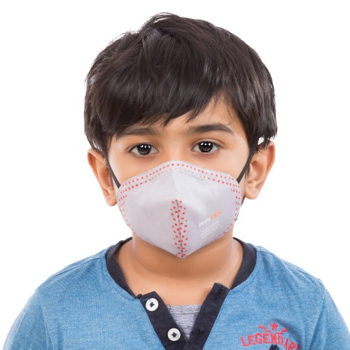Best mask produced for Kids | Washable | Reusable with superior protection & comfort | Pack of 3 - Armour