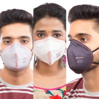 Best mask produced for a common Man | Washable | Reusable with superior protection & comfort | Pack of 3 | Armour | Black, White, & Grey
