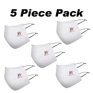 Pack of 5 | Virostat |  Inactivate the virus with in minutes | Reusable cloth Mask